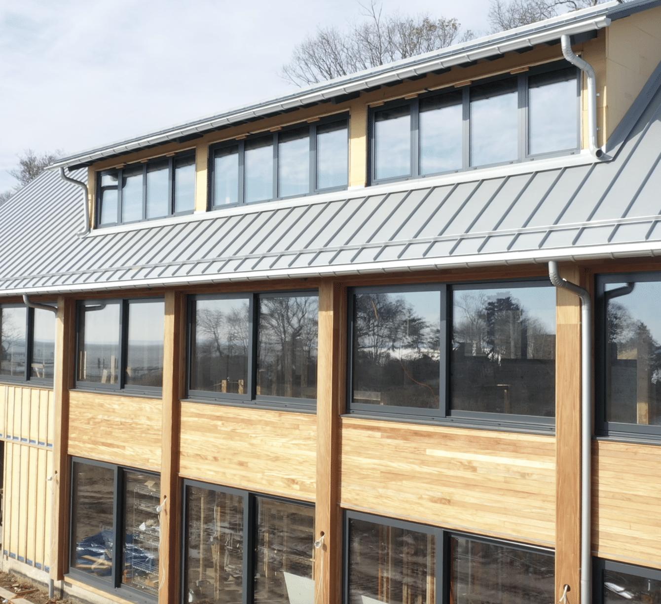 Galvalume Half Round Rain Gutter Installation | Norwalk, CT