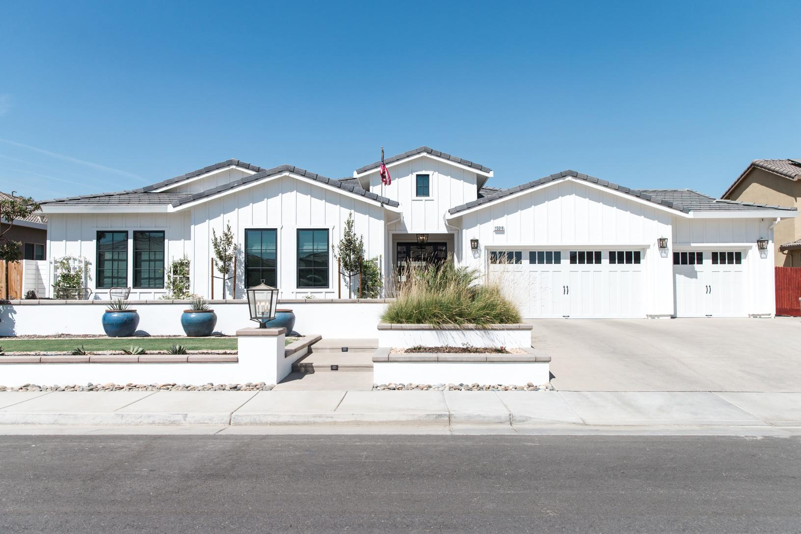 Bakersfield Home Remodel - Finished Exterior