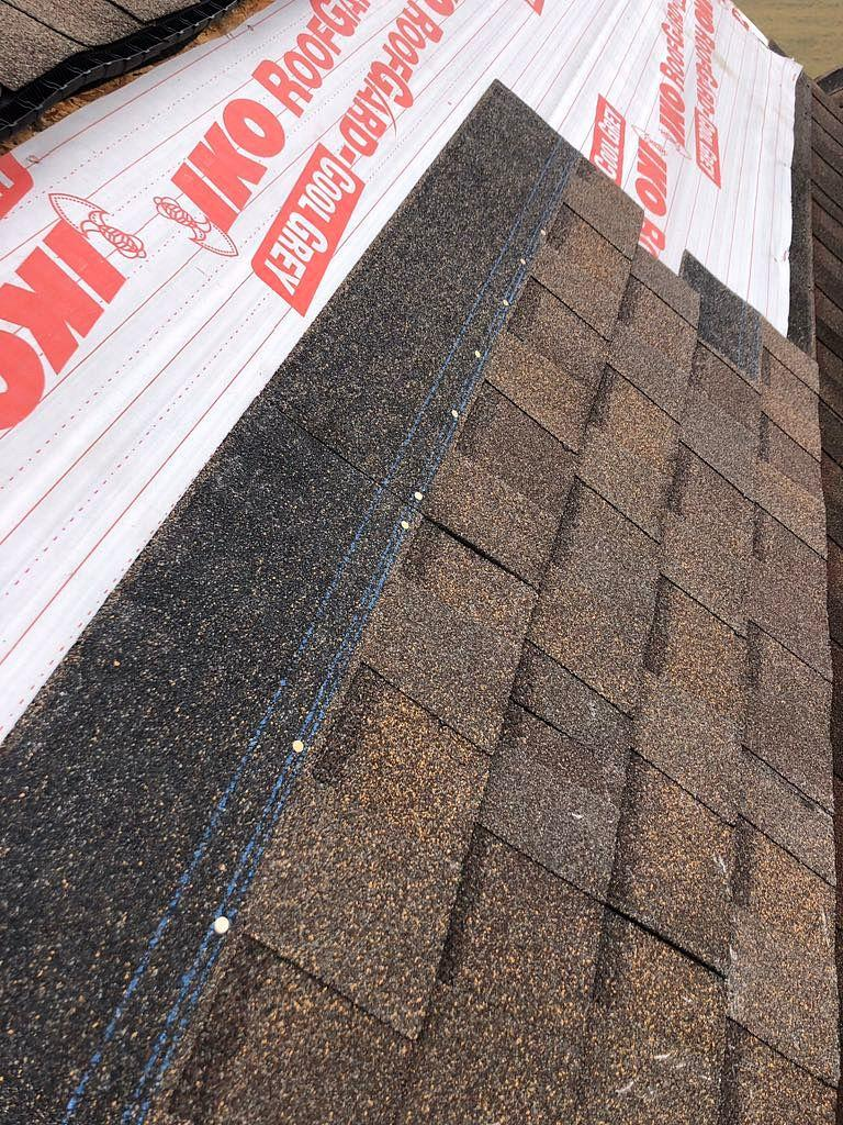 New Shingles over Ice & Water Shield in Zanesville, OH