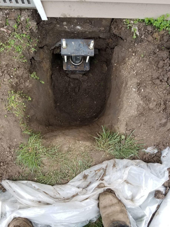 Foundation Repair - Unstable Crawl Space in Bethalto, IL ...