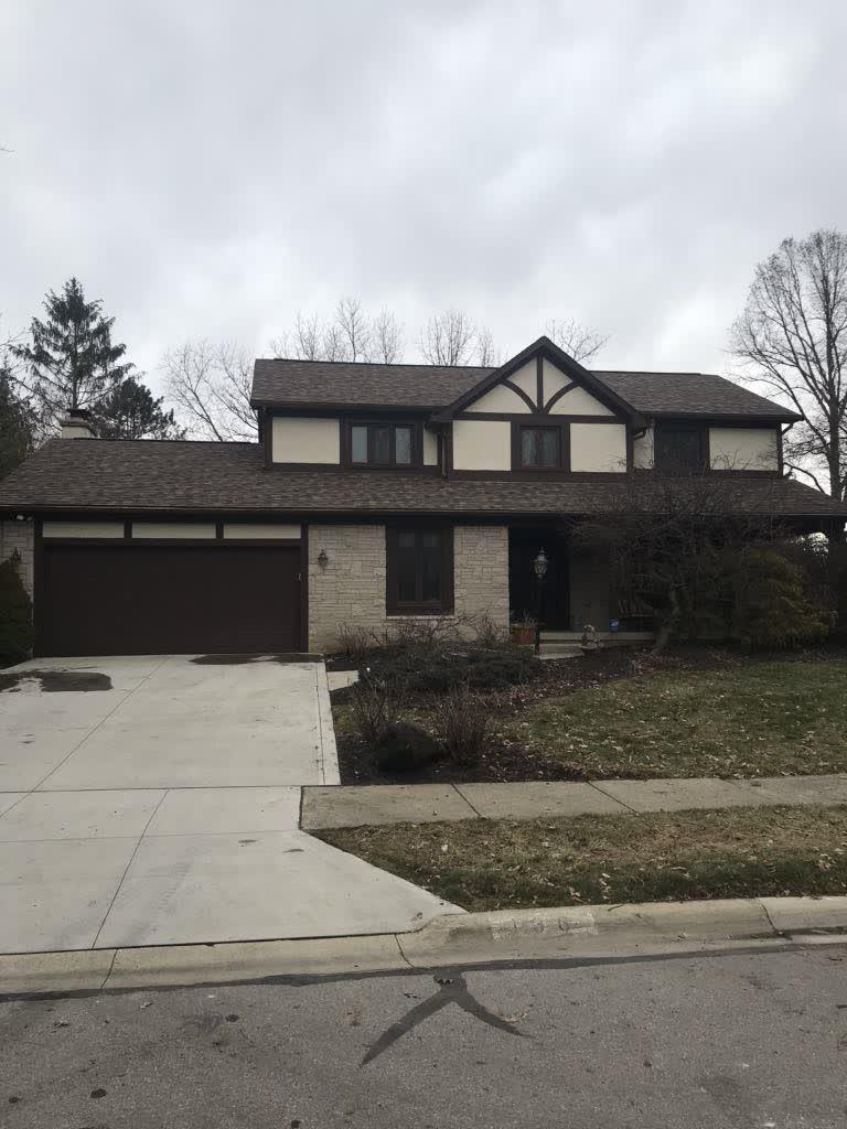 Roof Replacement In Westerville Oh Finished Roof In