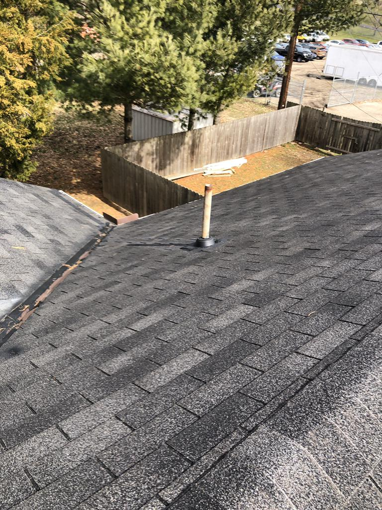 Finished Roof in Athens, OH