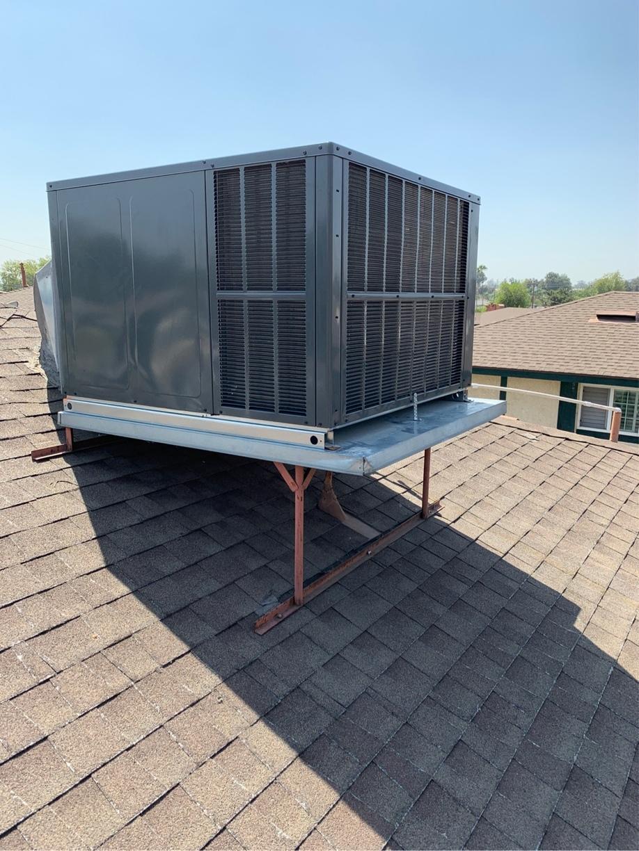 Packaged Unit Installation in San Bernardino, CA.