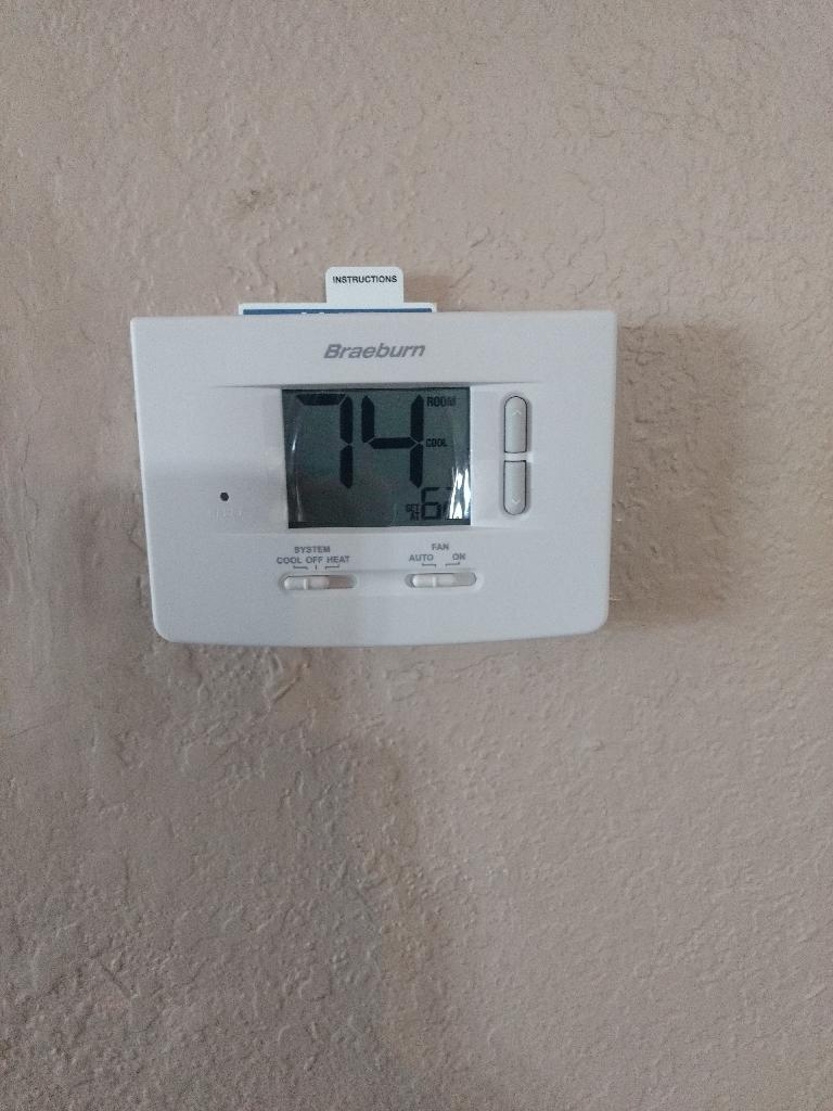 Thermostat Replacement In Canyon Lake, Ca