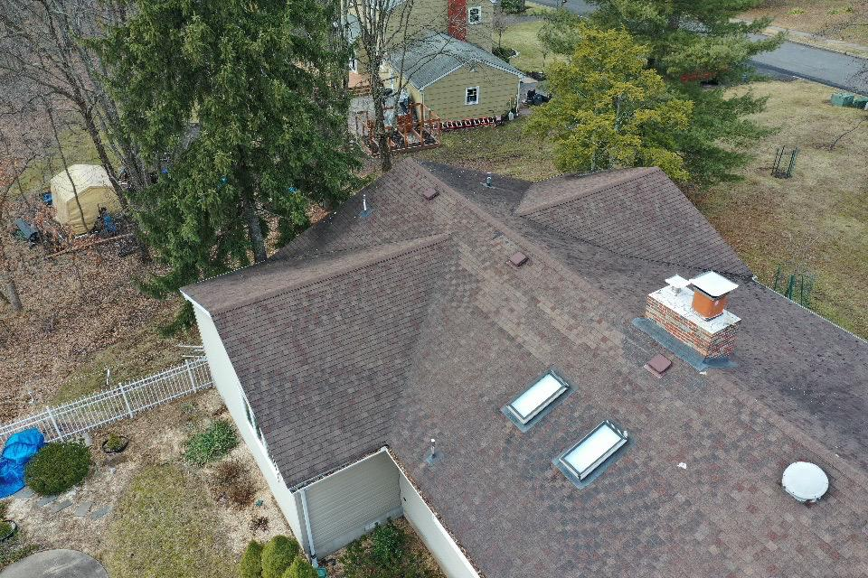 Patched Roof