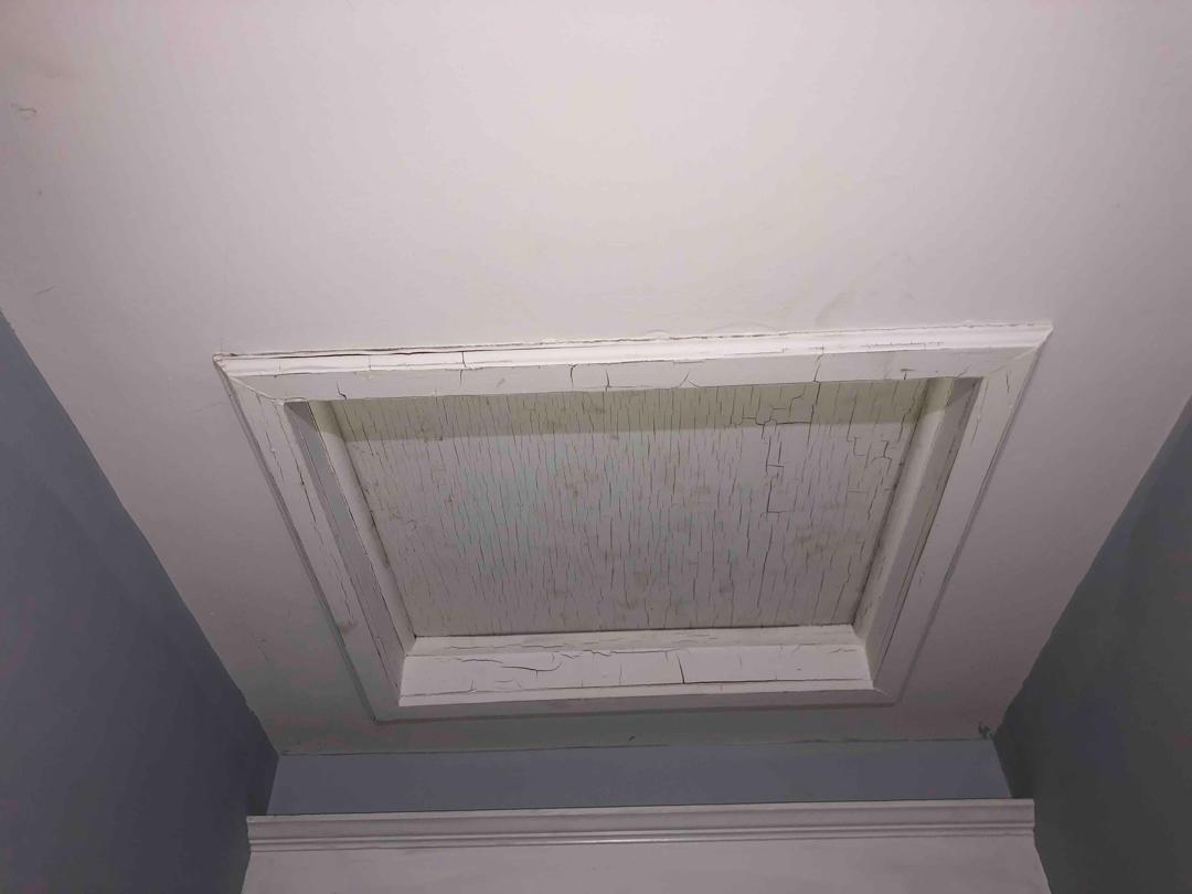 Chipping on Attic Scuttle Access