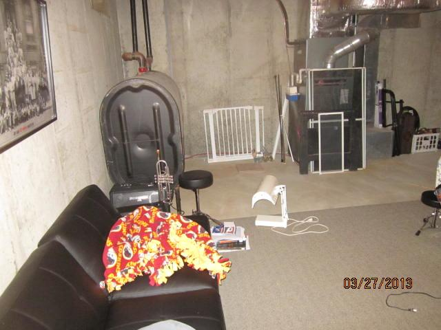 Mansfield Center, CT Wet Basement