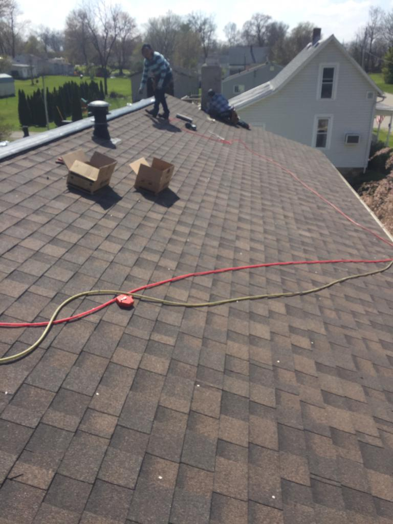 (Almost) Finished Roof in Ostrander, OH