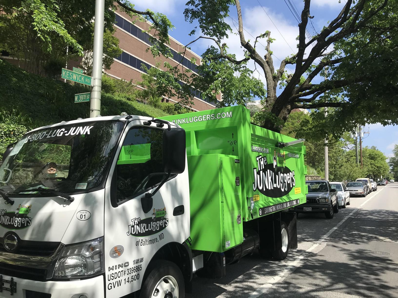 Junk Removal, Johns Hopkins Keswick Campus