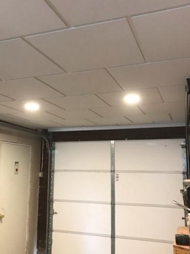Drop Ceiling and finished walls in North Collins, NY.