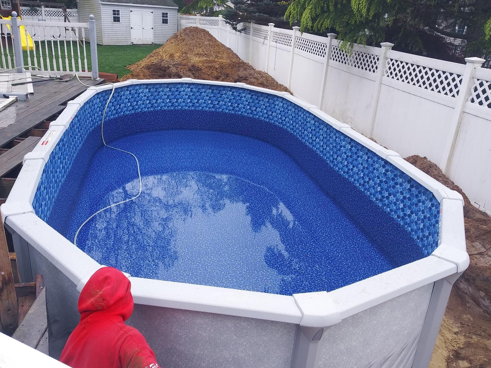 Brick, NJ Pool Installation