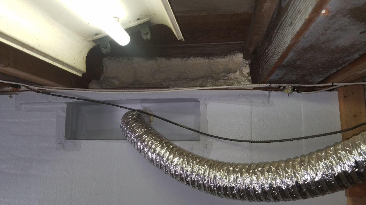 After Insulation with Venting