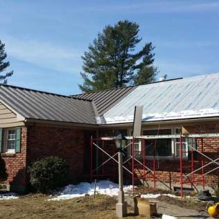 Installing a New Metal Roof in Richmond, MA