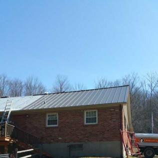 Installing A Metal Roof on a Richmond, MA Home