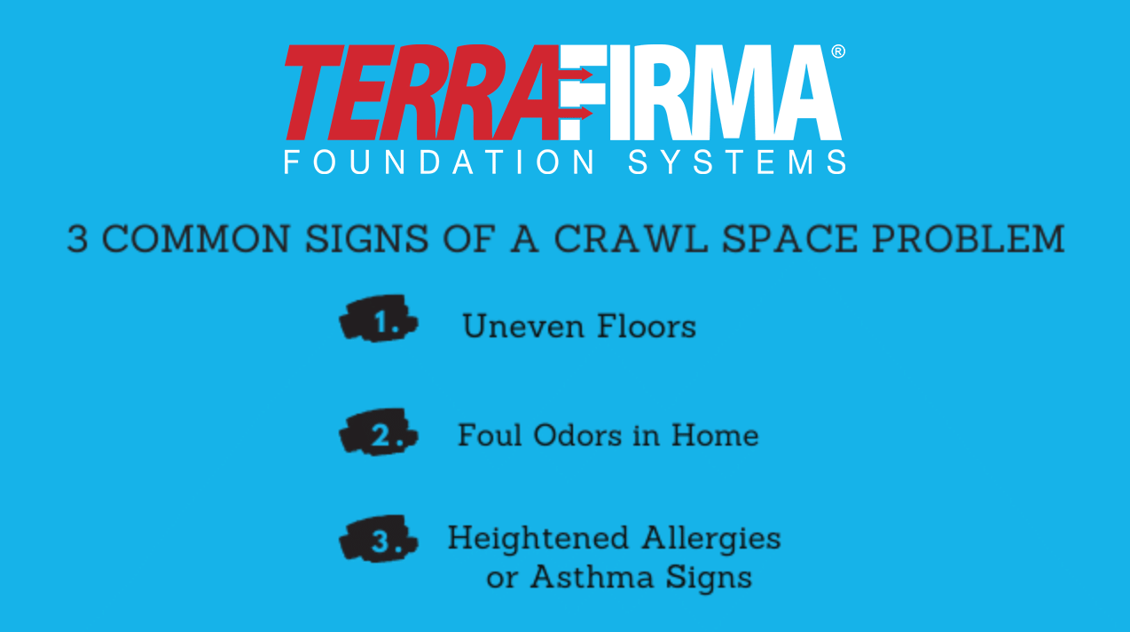 3 Common Sings of a Crawl Space Problem