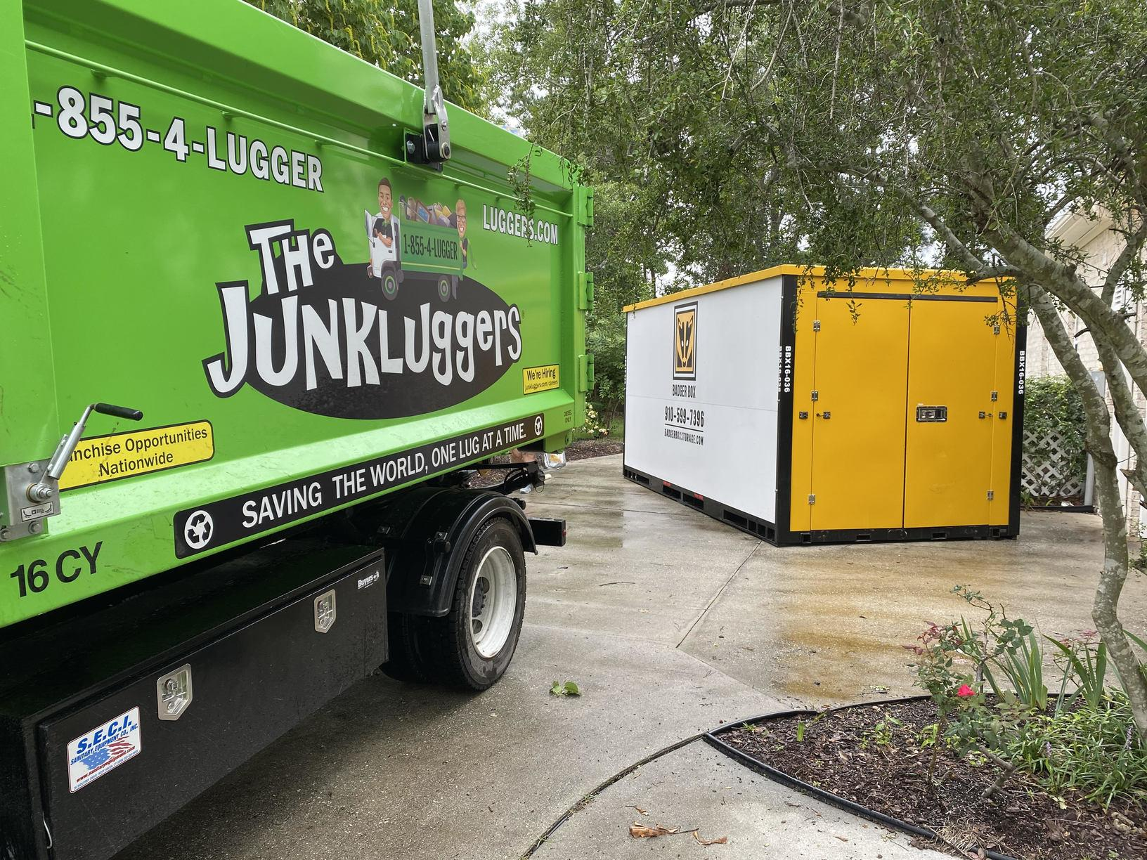 Luggers Moving of Wilmington & Badger Box Mobile Storage