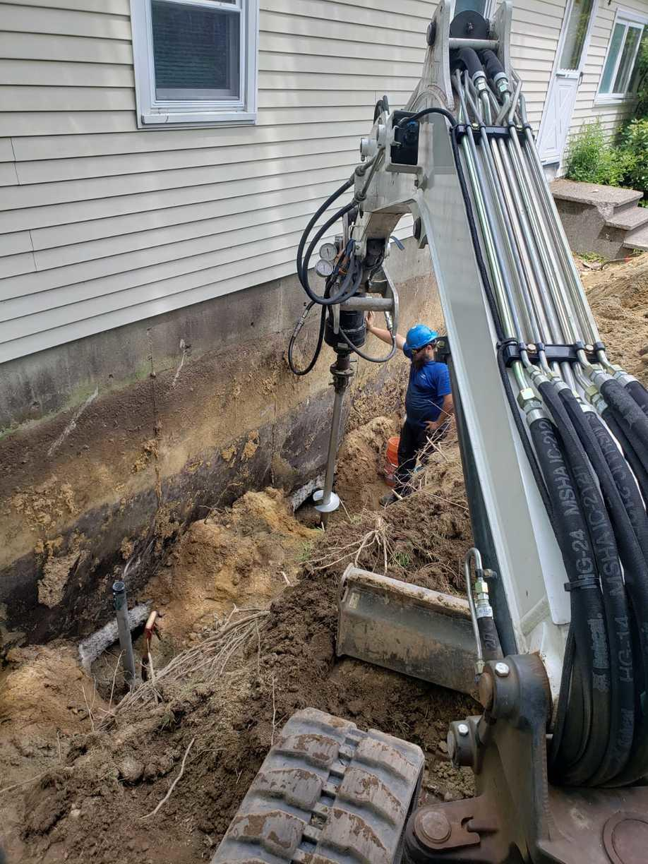 Installing Helical Piers