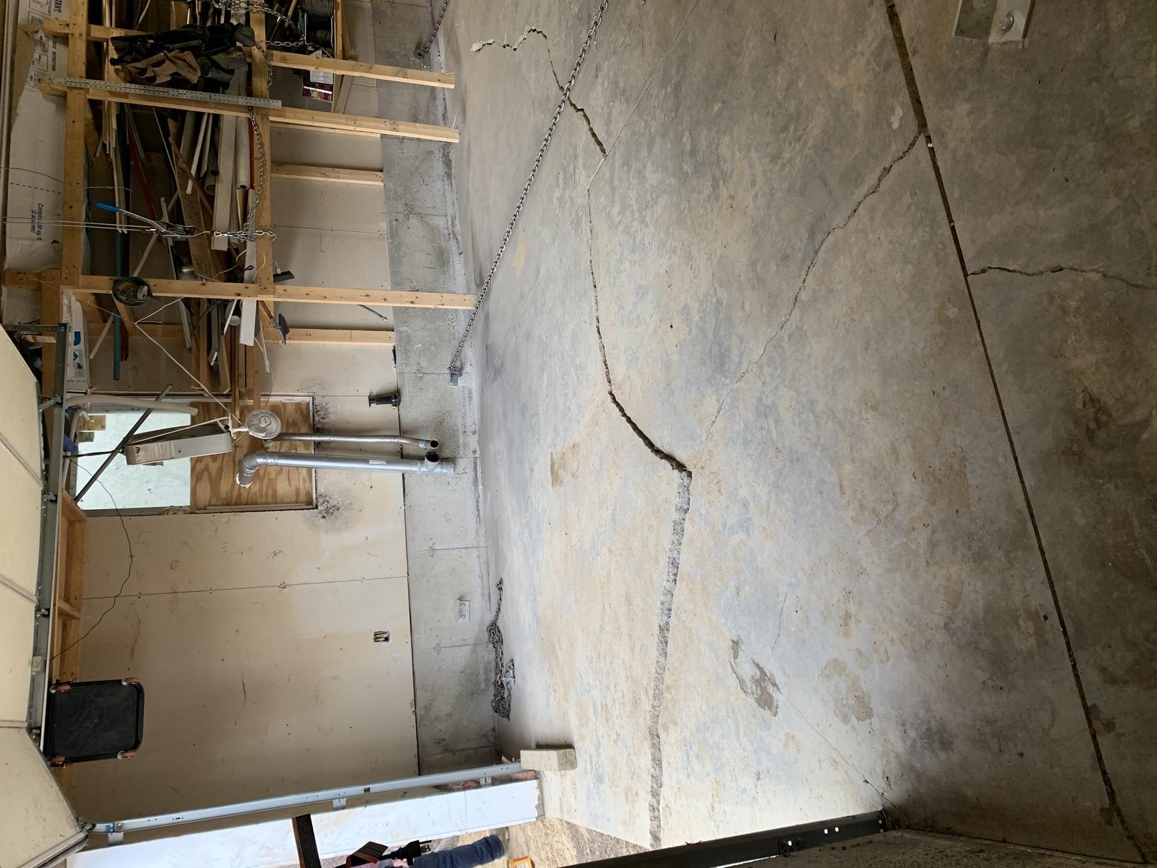 Garage Floor Cracks