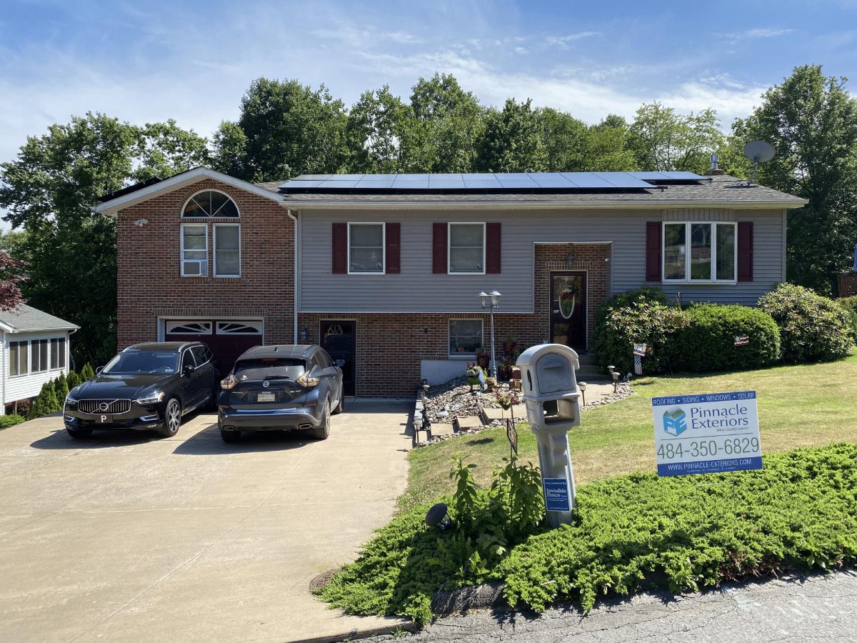 Solar Installation done in Nanticoke, PA