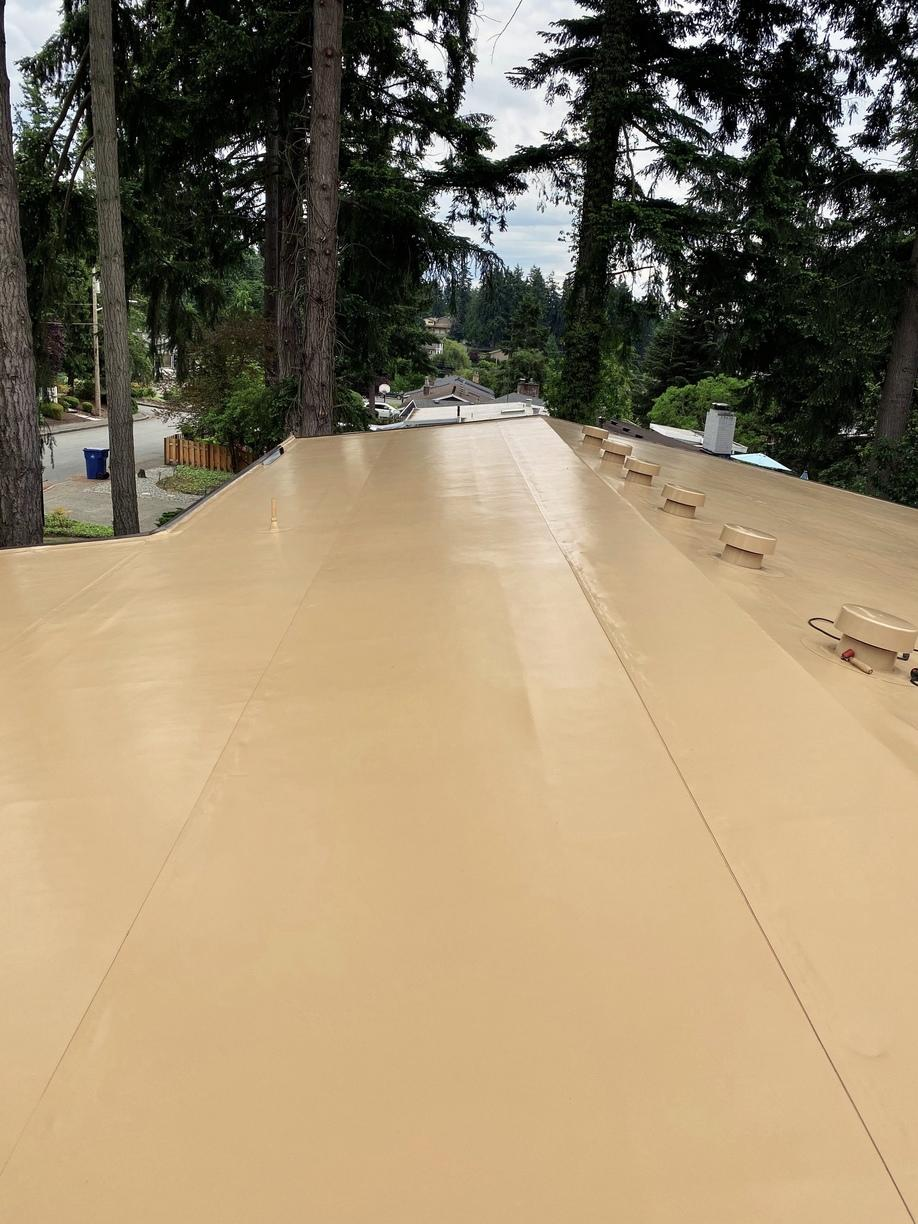 Types Of Roofing Flat Low Slope Roofing Pvc Roof In