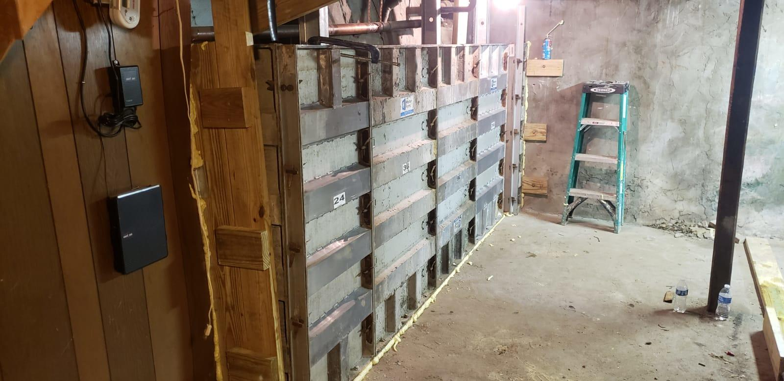 Forming New Wall