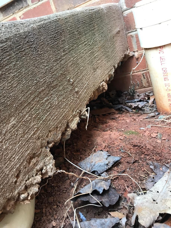 North Garden, VA Concrete Issues