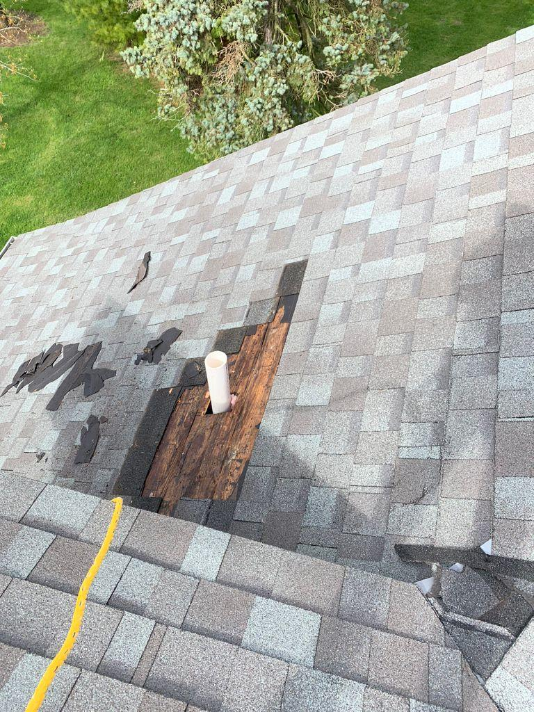 Removing Old Shingles in Plain City, OH