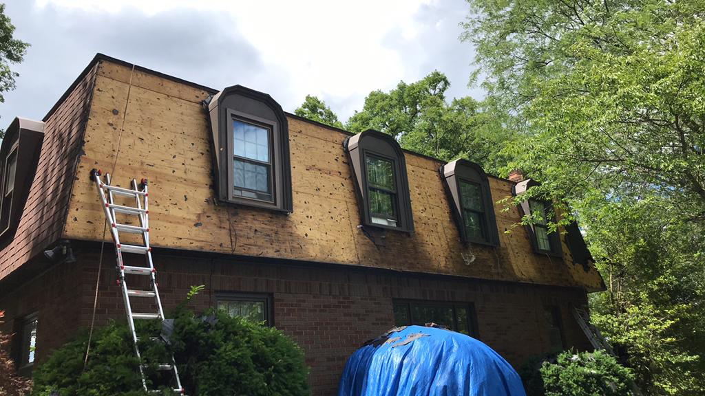 Replacing the Rotted Decking in West Liberty, OH