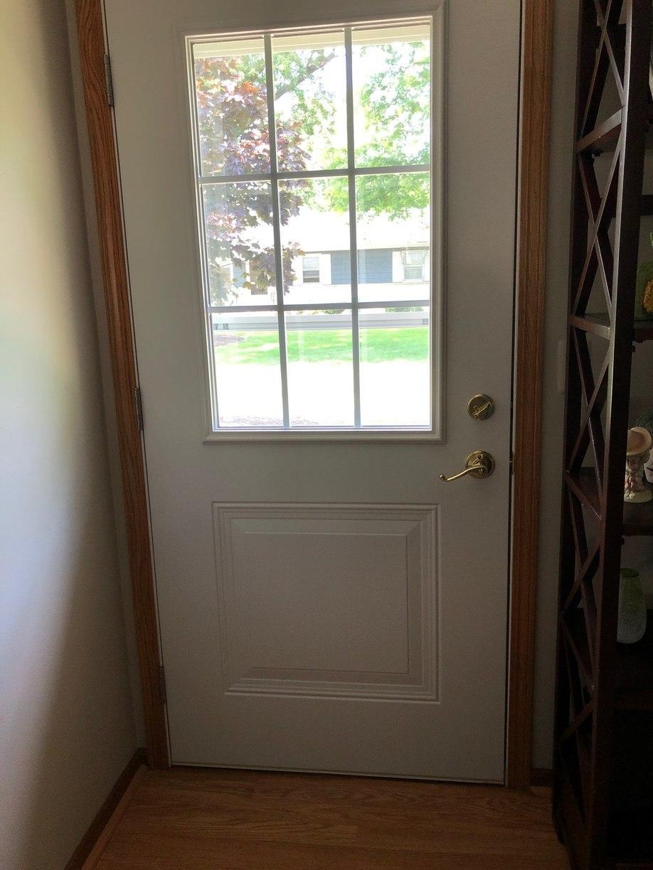 Energy Efficient Entry Door Grand Rapids View From