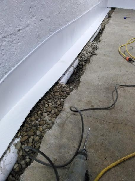 Interior Drainage System in Monroe, MI