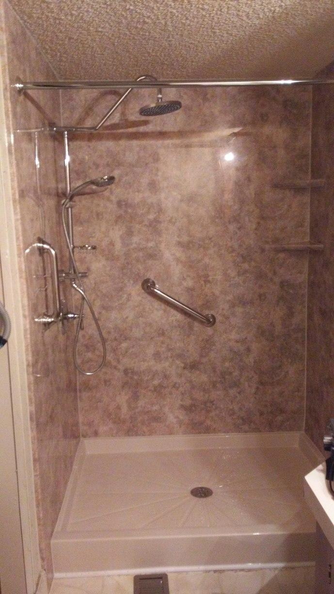 Shower Installed in Ionia