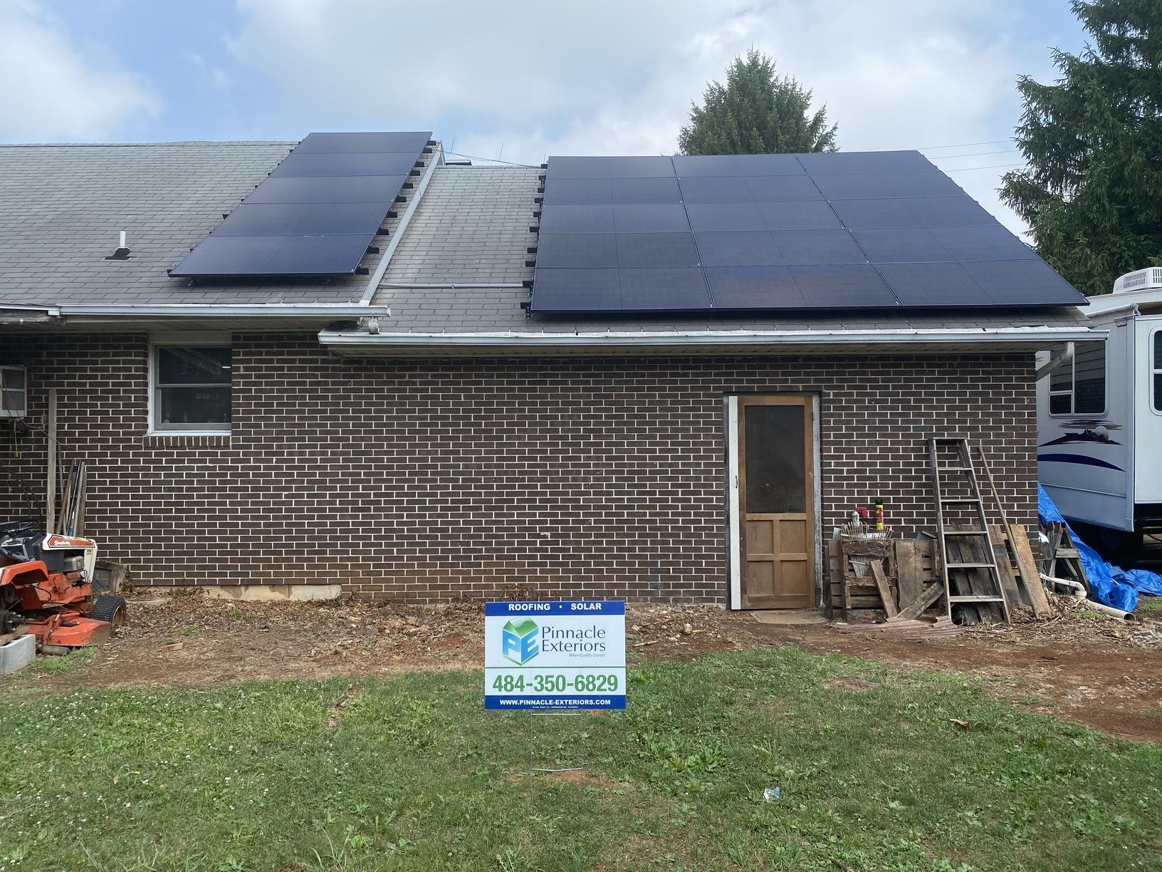 Solar Installation done in Nazareth, PA