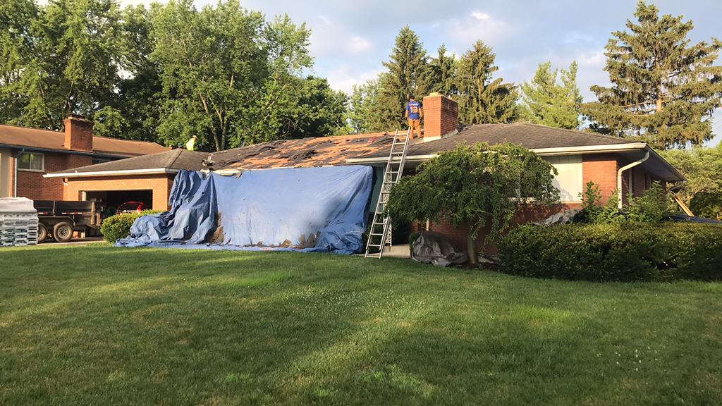 Old Shingle Removal in Columbus, OH