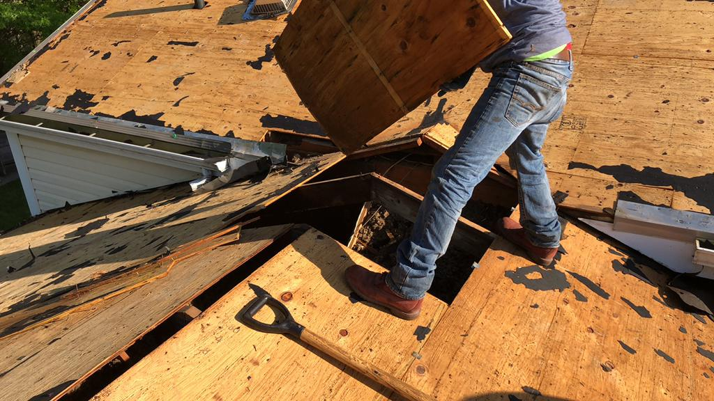Replacing the Rotted Decking in Powell, OH
