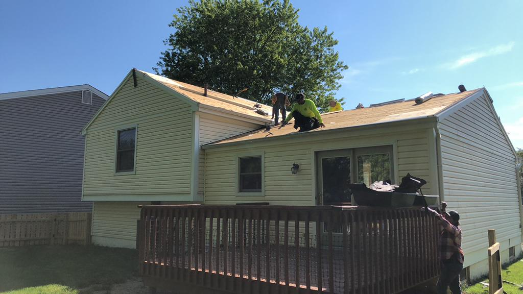 Shingle Removal in Powell, OH