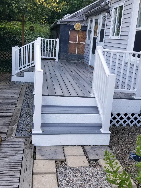 Side Stairs Built in Attica, MI