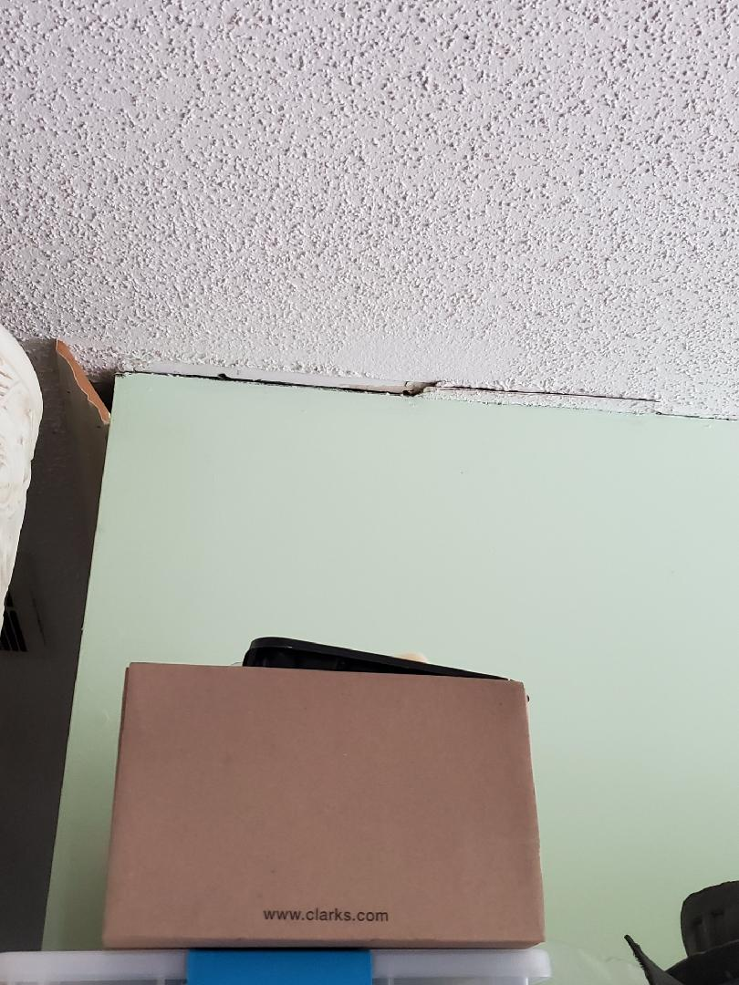 Separation of Walls and Ceiling