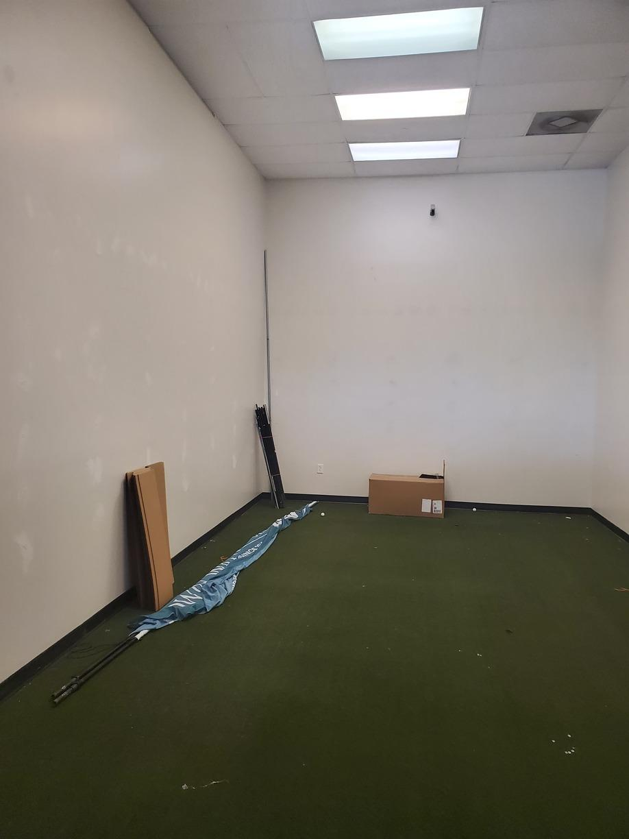 Golf store clean out