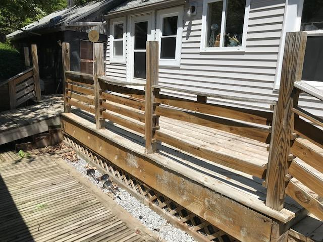 Before Replacing the Deck