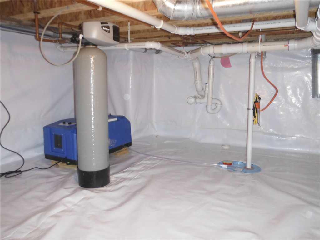 Dehumidifier and Sump Pump