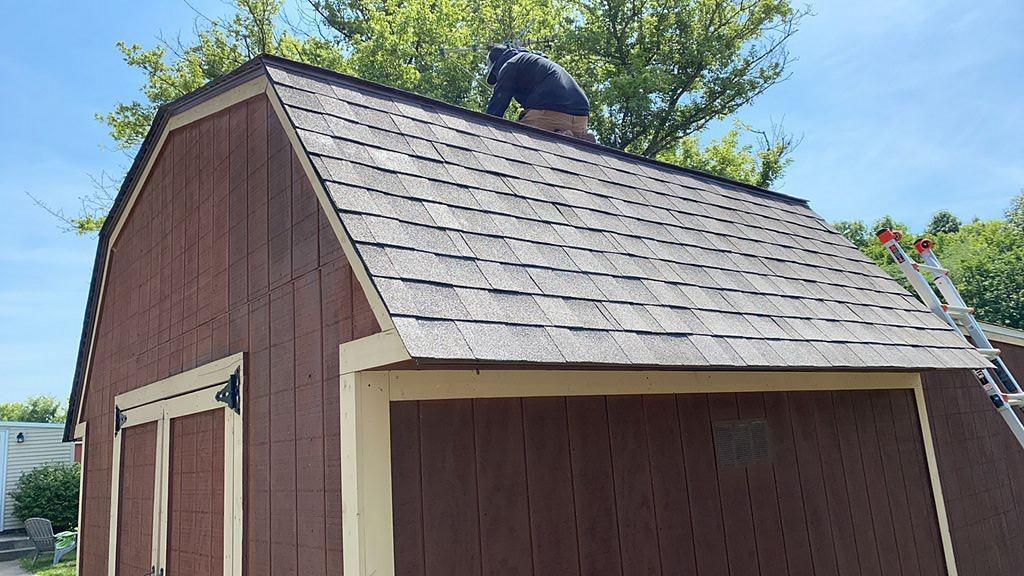 Finished Roof in Marengo, OH