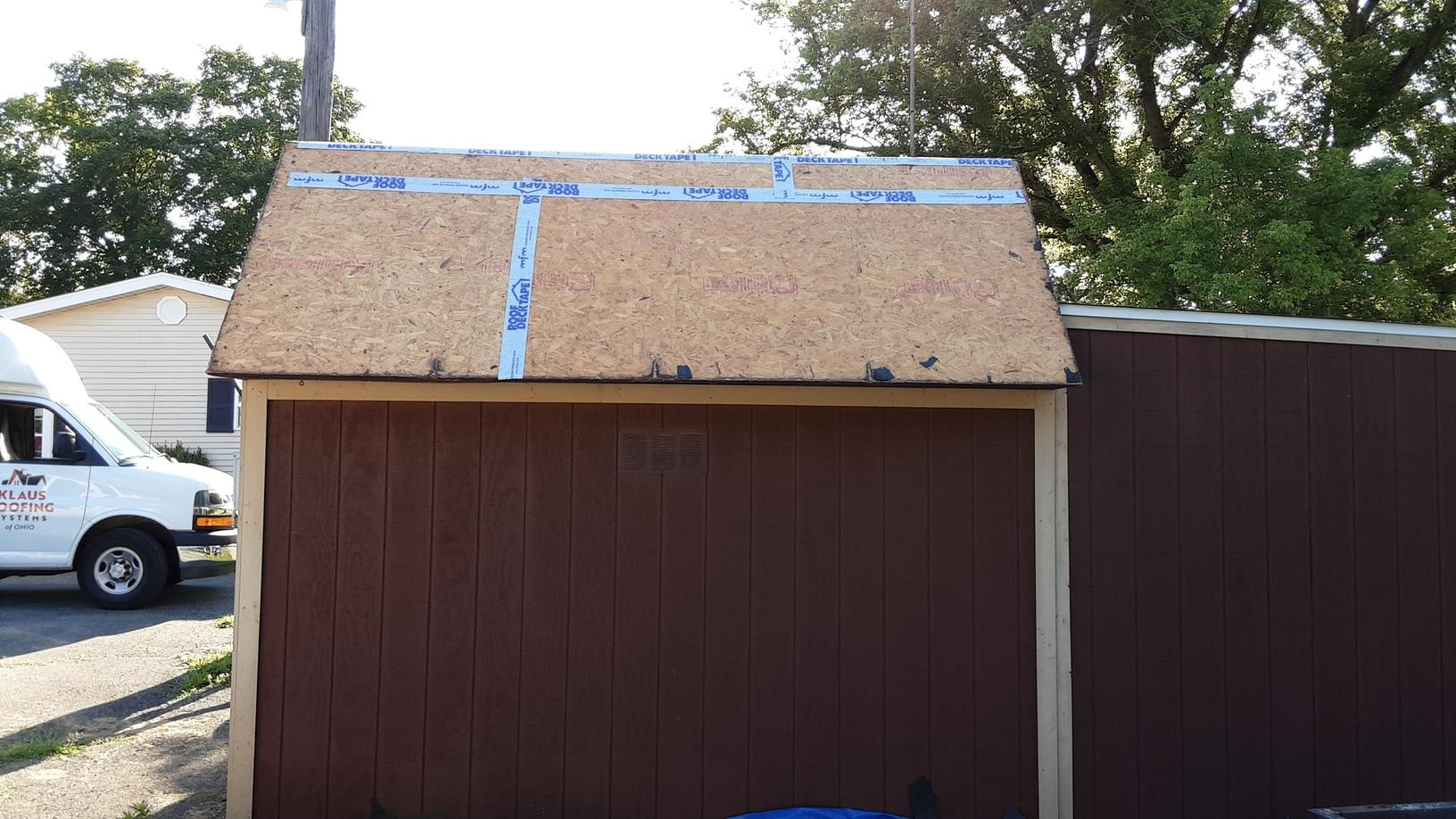 Roof Replacement Shed Roof Replacement In Marengo Oh