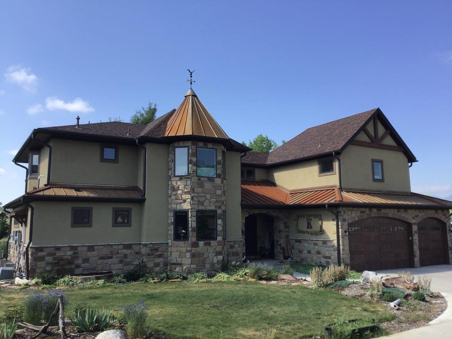 Metal accent roof Boulder CO