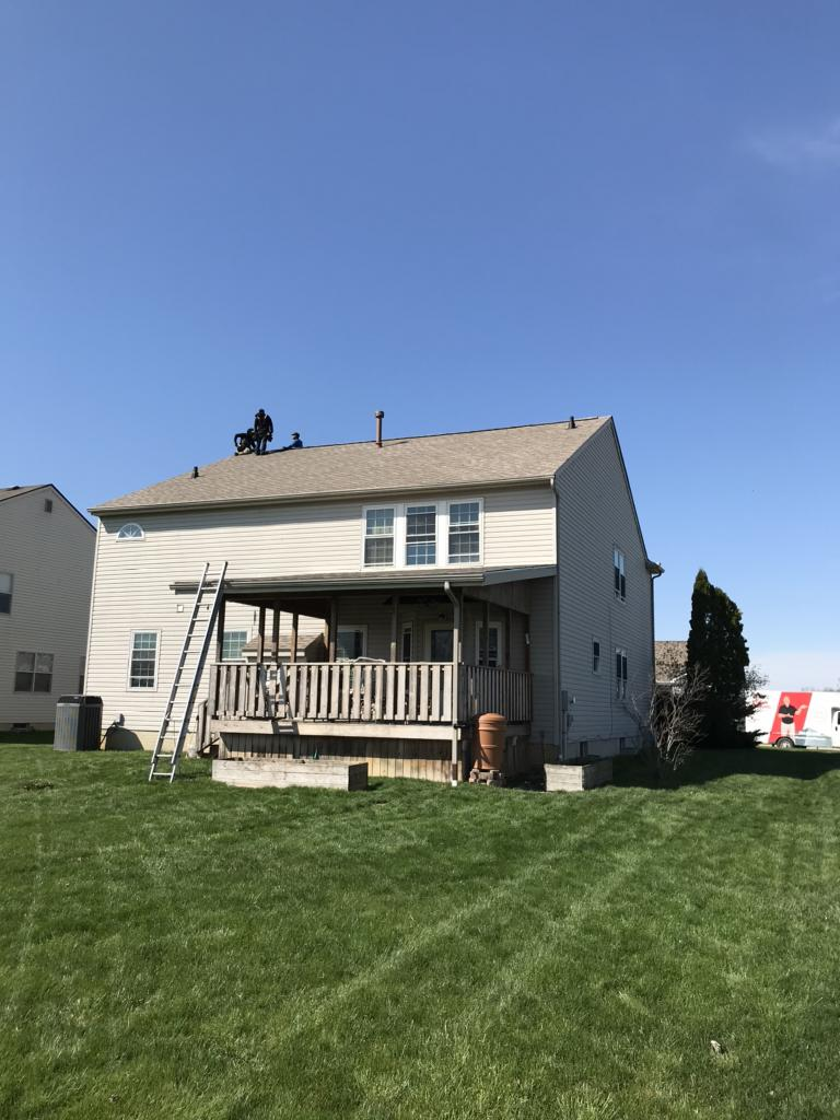 The Finished Roof in Groveport, OH