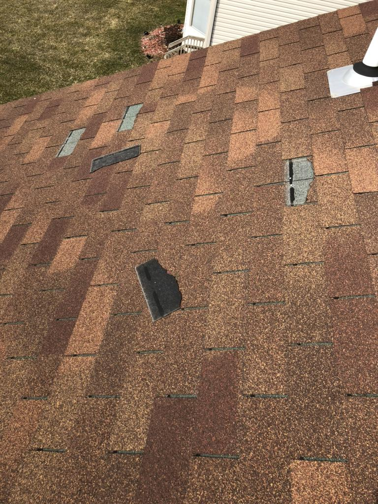 Missing Shingles to Replace on a Roof