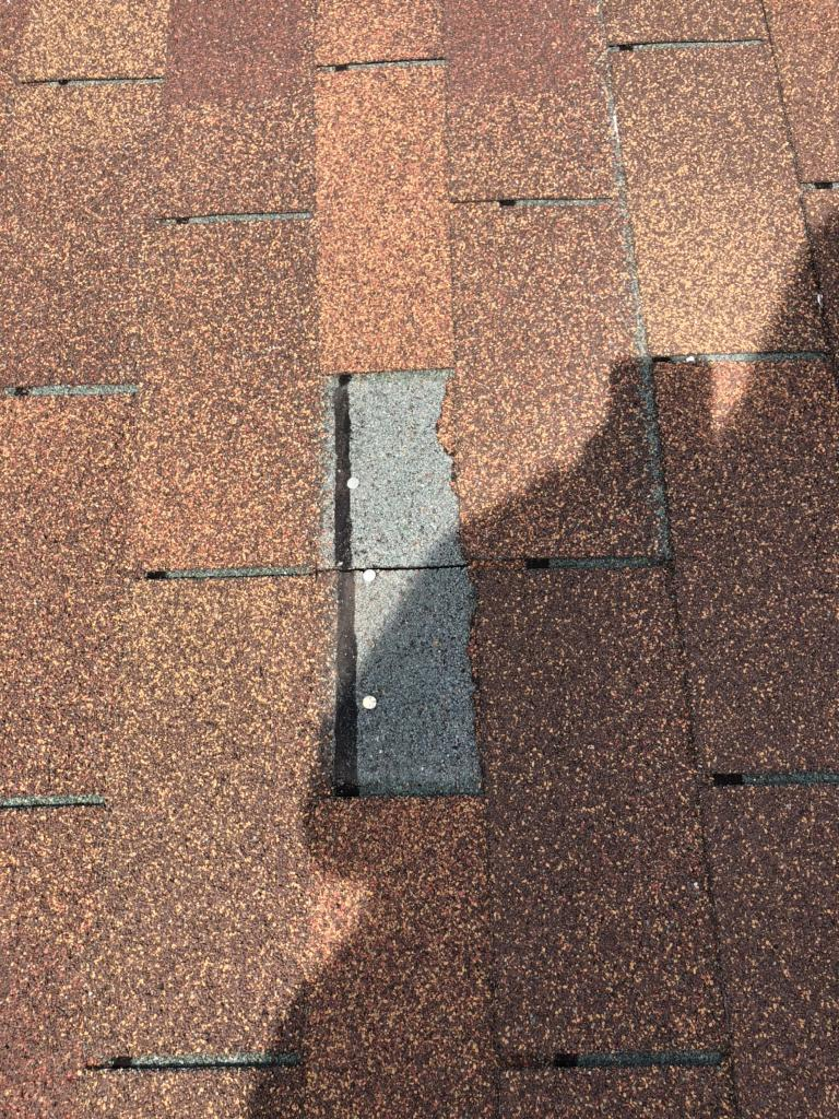 Missing Roofing Shingle in Groveport, OH