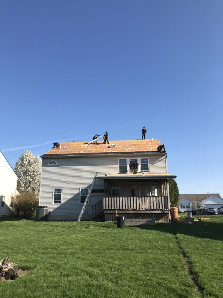 Removing the Old Shingles in Groveport, OH