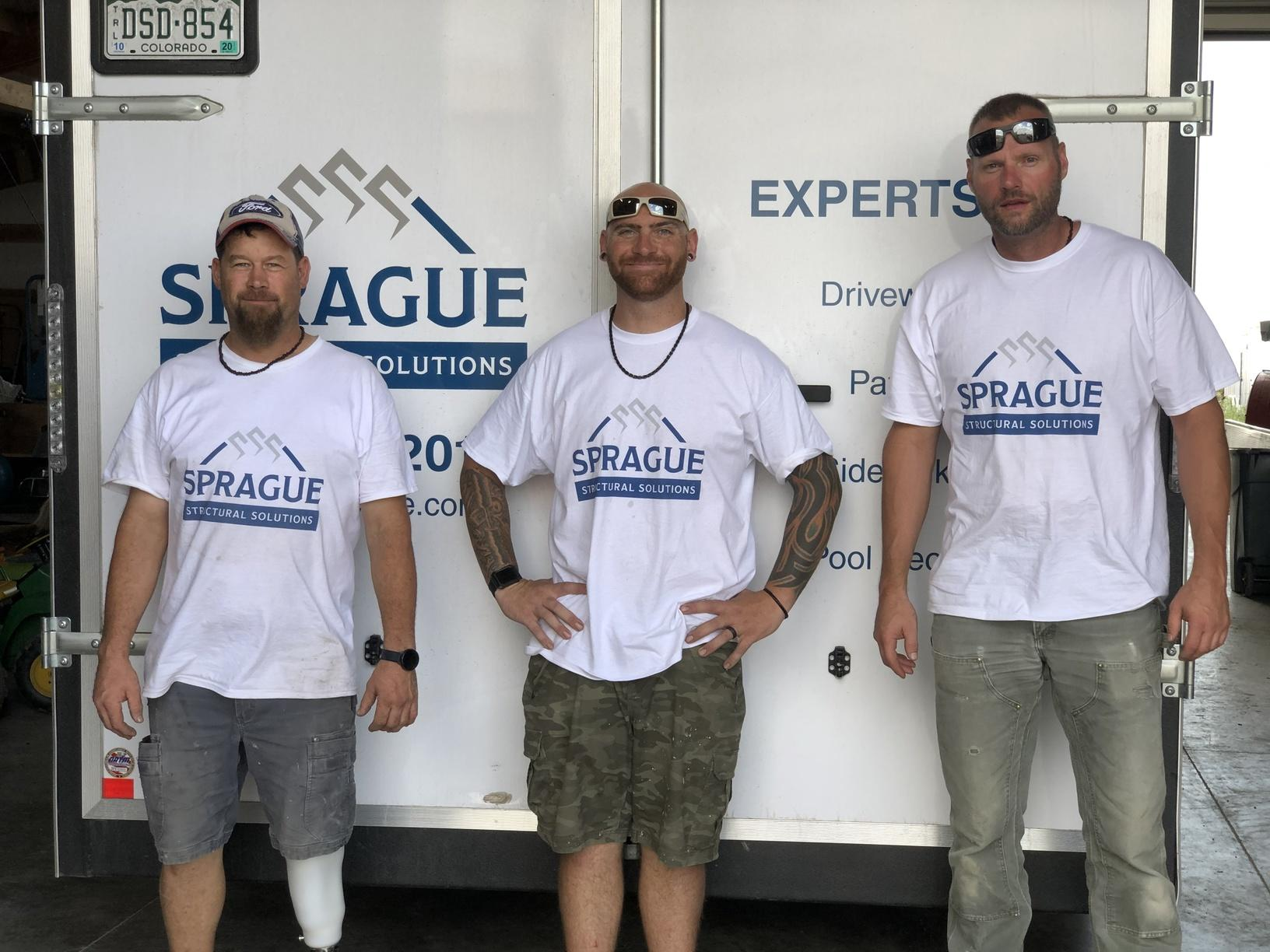 Sprague Structural Solutions Install Crew