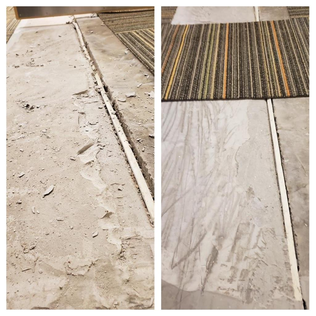 Before and After of Floor