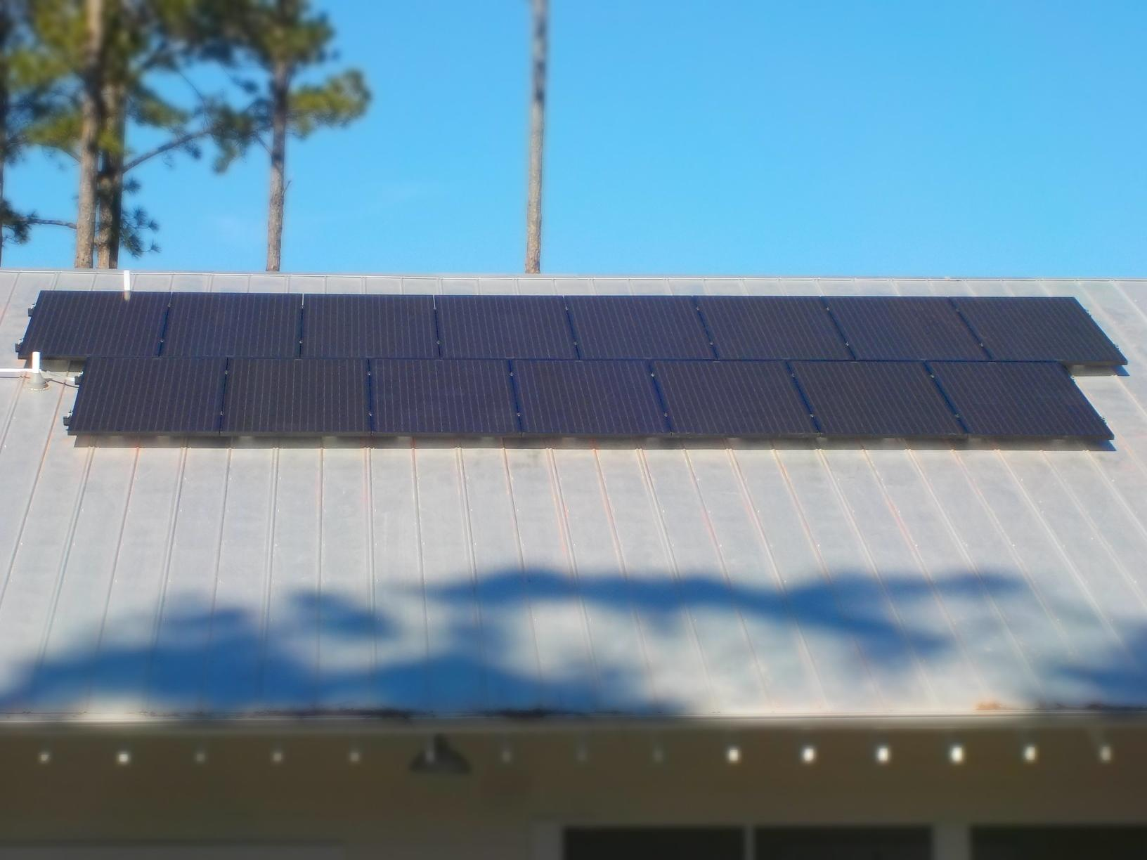 Solar Panels in Round O